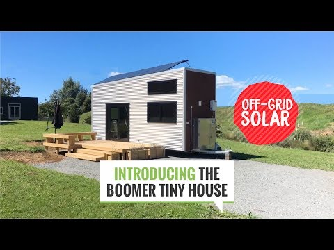 Quick Tour of the Boomer Tiny House | Off Grid Solar | New Zealand