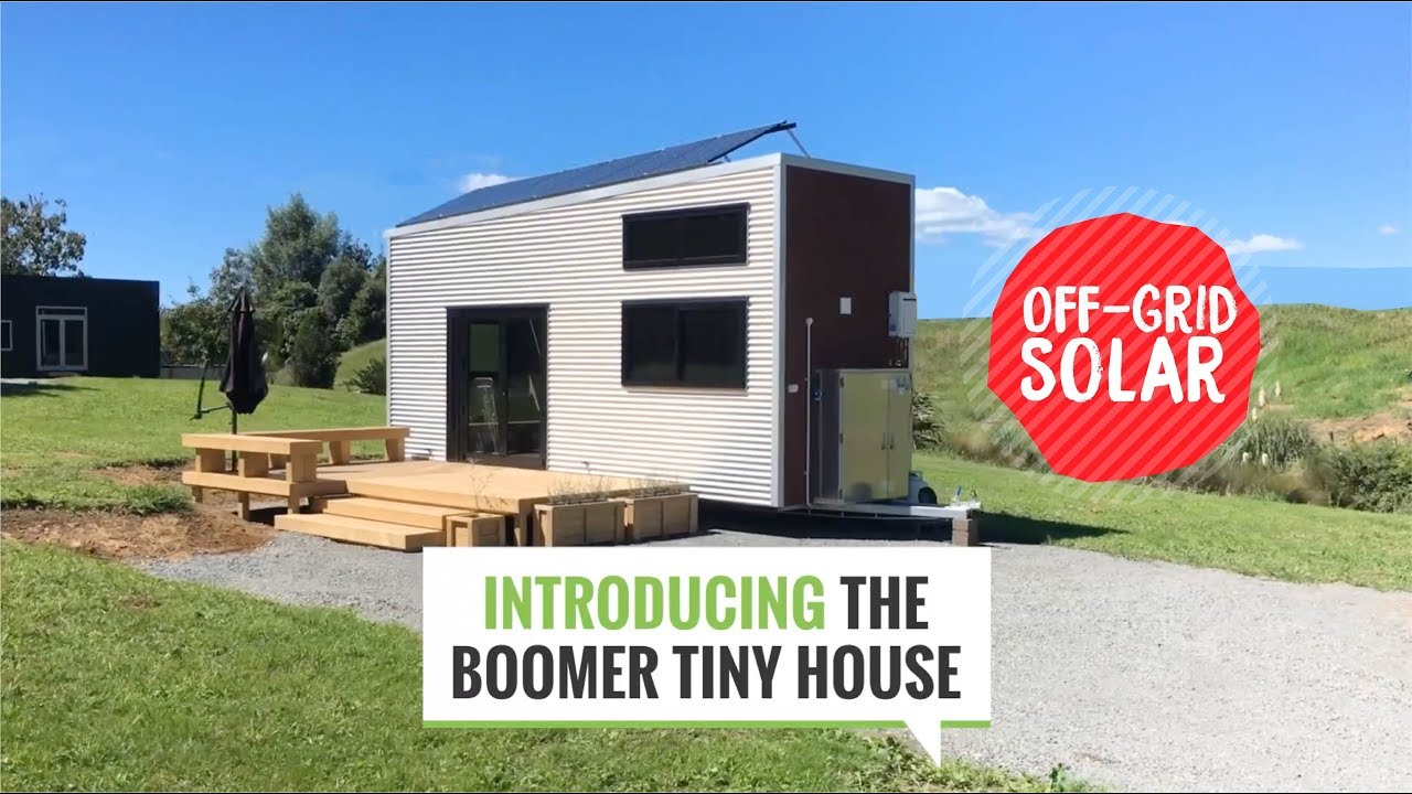 Quick Tour Of The Boomer Tiny House Off Grid Solar New