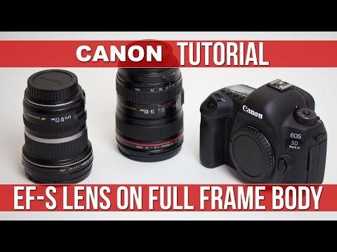 Canon EF-S Lens on a Full Frame Body (5D Mark IV)