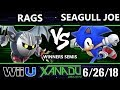 S@X 256 Smash 4 - Rags (Metaknight) Vs. Seagull Joe (Sonic) - Wii U Winners Semis