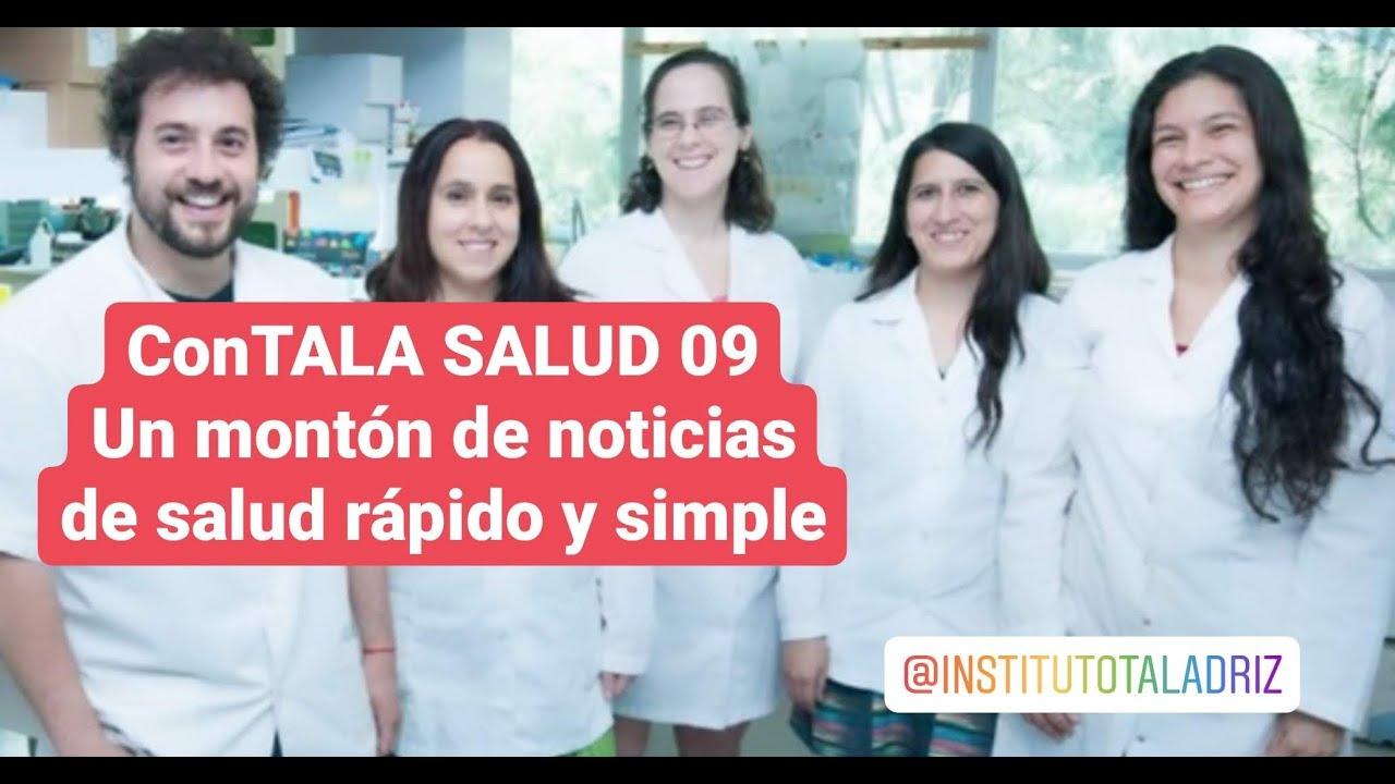 ConTALA SALUD 09 ❤ Colchicina Mascarillas Diabetes Hemorroides Factura en USA Vacuna Argentina