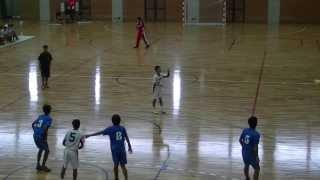 JOCハンドボール大会近畿予選・2013.08.31(土)・大阪選抜 VS 滋賀選抜(前半戦)