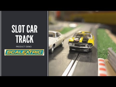 Scalextric Slot Car Track Kits