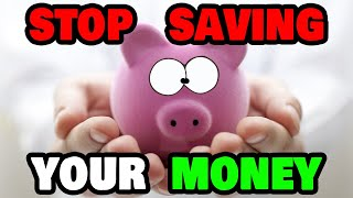 Stop Saving Money!  How to Earn $500 a Day Instead! (Step by Step)