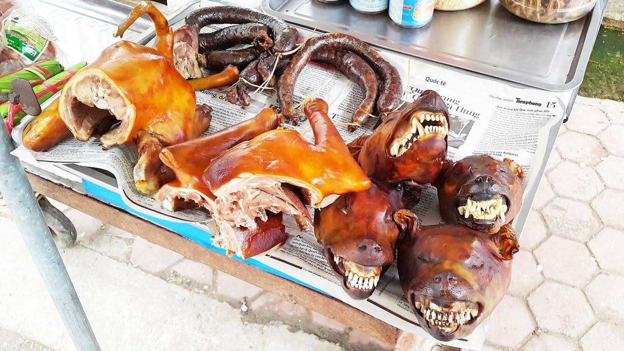 Mięso Z Psa Hanoi Wietnam 381