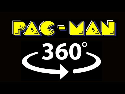 Pacman 360 stop motion