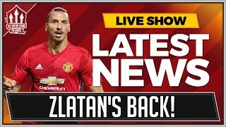 ZLATAN IBRAHIMOVIC Signs For MANCHESTER UNITED! MAN UTD Transfer News