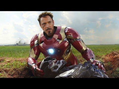 War Machine Falls Scene - Airport Battle - Captain America: Civil War - Movie CLIP HD