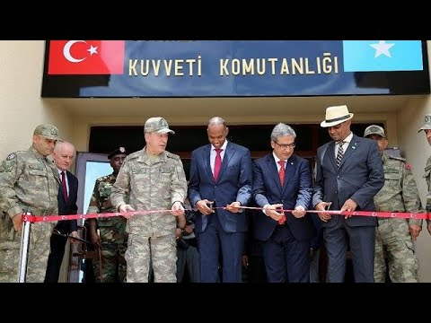 Somalia hosts Turkey's largest overseas military base