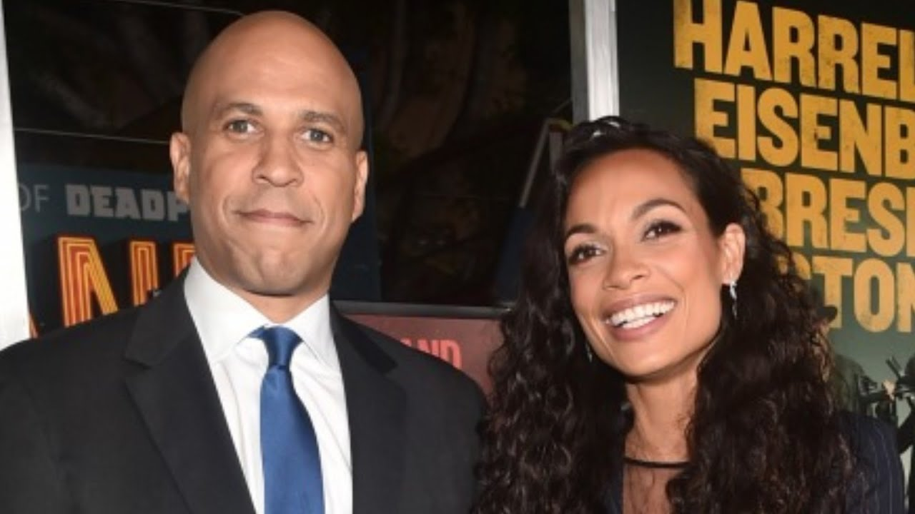 Rosario Dawson, who found her 'person' in Cory Booker, says she ...