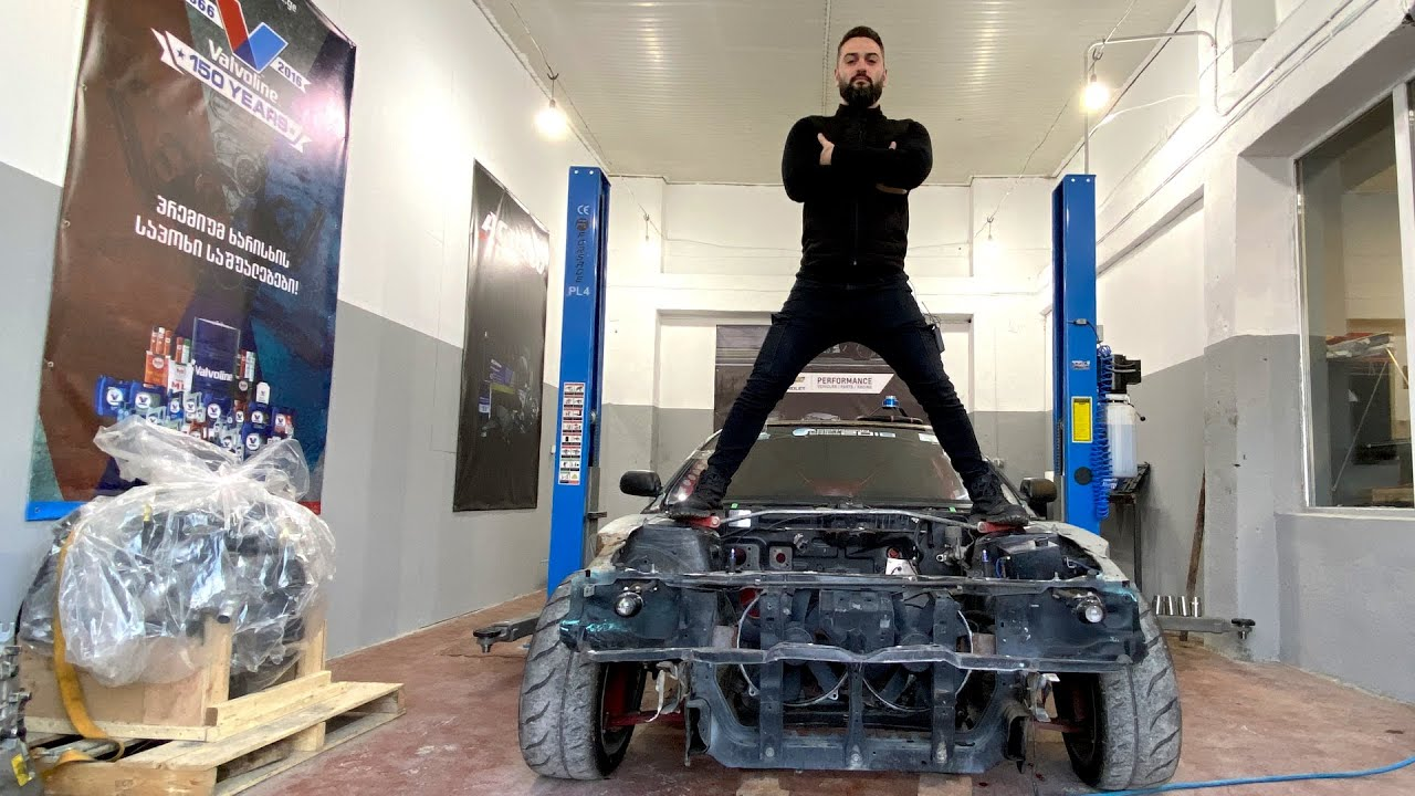 როგორ იწყობა ჩემი DRIFT CAR – ი!!! LS DRIFT Silvia #2 UNBOXING!