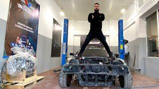 როგორ იწყობა ჩემი DRIFT CAR - ი!!! LS DRIFT Silvia #2 UNBOXING!