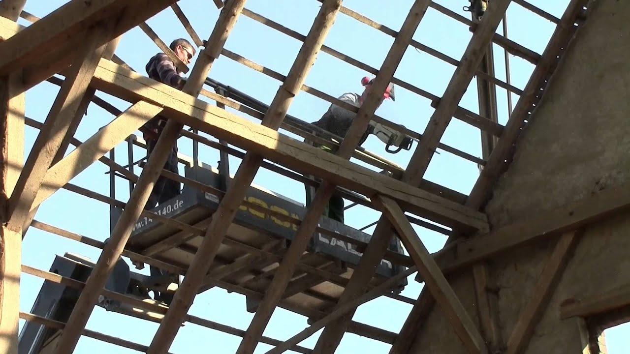 Super Abriss einer Scheune von Hubert Lindenbuß in Weseke - YouTube VT39