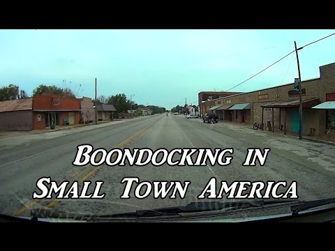 Boondocking in Small Town America Van Life On the Road
