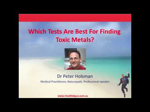 Testing For Toxic Metals