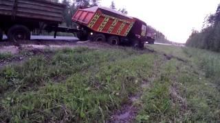 Грузовой эвакуатор.Камаз 27 тонн(http://www.avto-evacuator33.ru/ - Грузовой Эвакуатор. В этом ролике мы вытаскиваем Камаз весом 27 тонн, груженый щебнем,..., 2015-07-13T18:02:22.000Z)