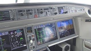 Delta A220 Cockpit and Full Flight - DTW-DFW (N101DU)