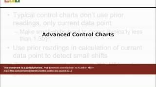 Control Charts (SPC) Course