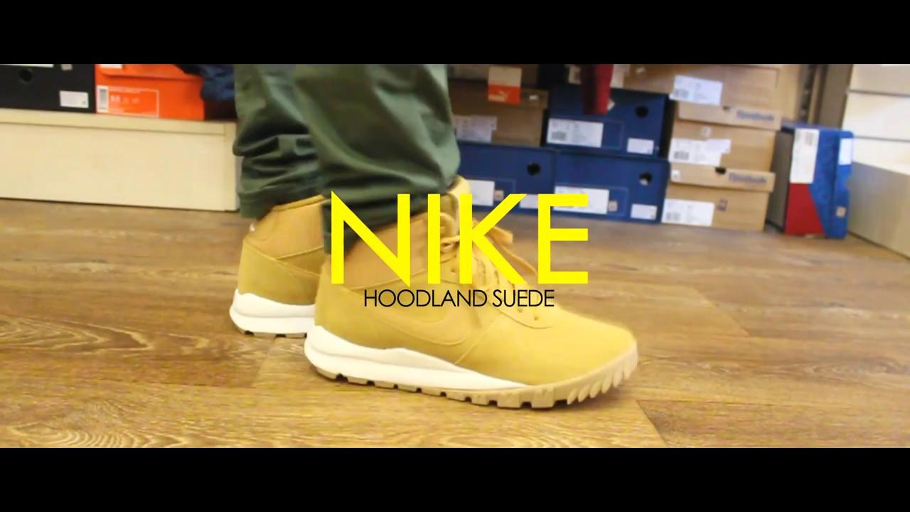 quality design 45380 6989a Review   Nike Hoodland Suede