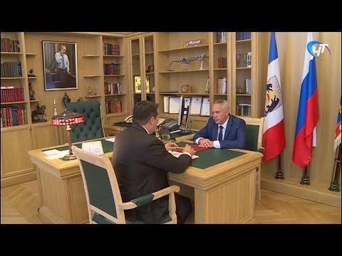 Андрей Никитин провел двустороннюю рабочую встречу с Алексеем Шитовым