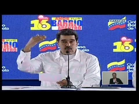 Venezuela's Maduro: humanitarian aid is 'politicised show' of US