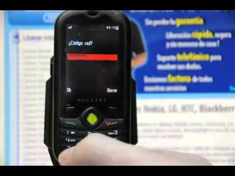 Liberar Alcatel OT 606, desbloquear Alcatel OT 606 One Touch CHAT de Vodafone Movical Net