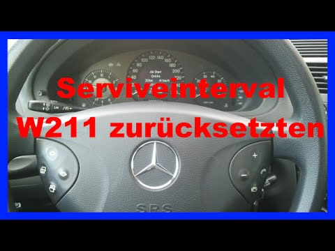 how to reset service reminder mercedes benz e class w2 doovi. Black Bedroom Furniture Sets. Home Design Ideas