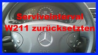 W211 Serviceinterval Reset