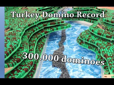Turkish Domino Record 2016 - 300.000 dominoes