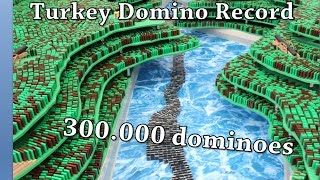 Turkish Domino Record 2016 - 300.000 dominoes
