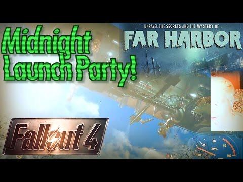 Fallout 4 Far Harbor Live Stream in 1440p / 60fps Part 6: Settlement Maintenance Back Home