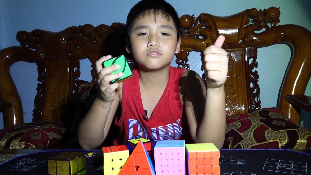 Thế Dương test Rubik mới mua