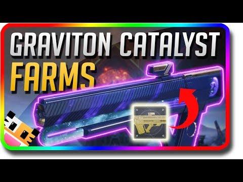 Destiny 2 - Graviton Lance Catalyst Fast Farm & Sunshot