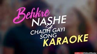 Nashe Si Chadh Gayi Karaoke / Instrumental From