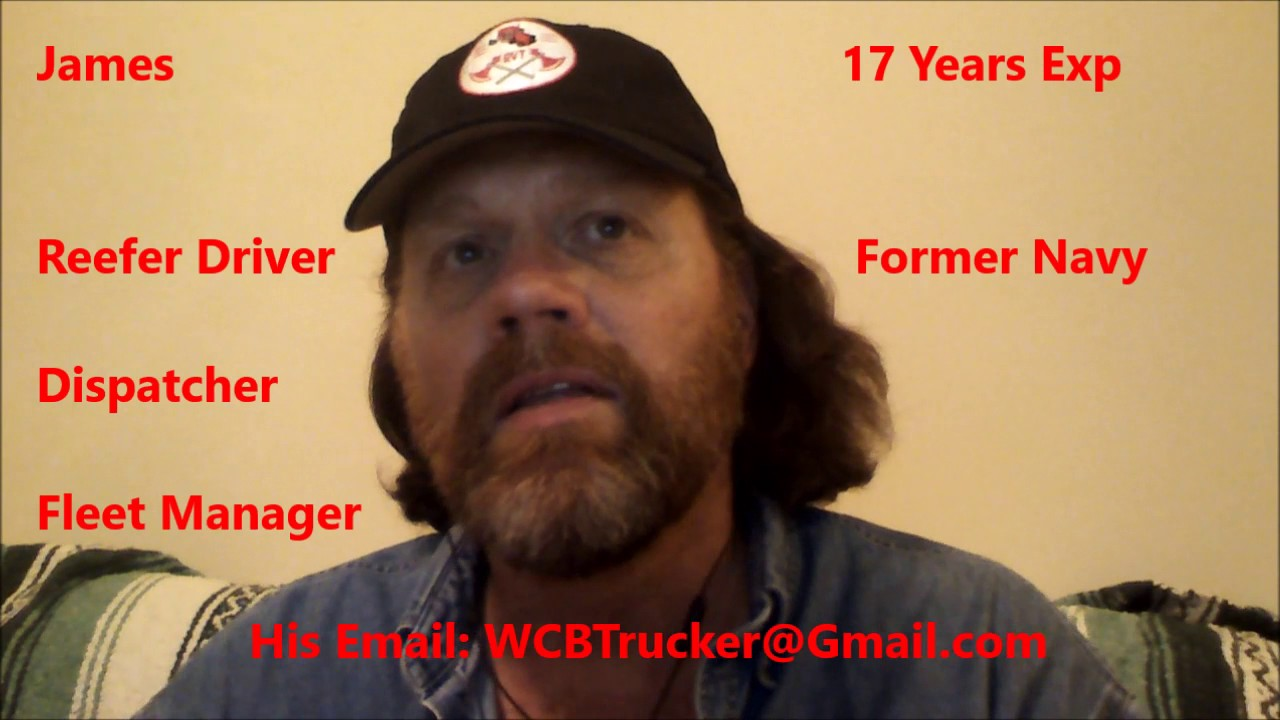 guest interview 14 james reefer company driver 17 years experience dispatcher fleet manager too