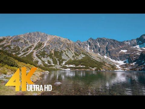 Tatra National Park - Nature Scenery in 4K - Poland, Europe (Tatrzański Park Narodowy)