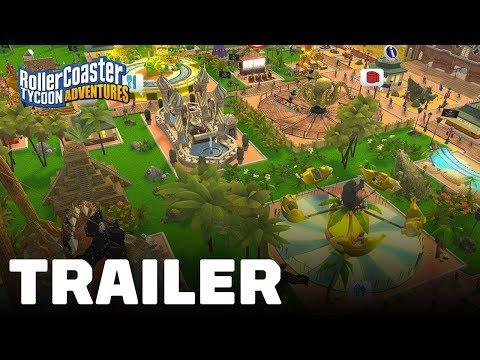 RollerCoaster Tycoon Adventures - SWITCH | VIDEOGAMESPLUS CA | Home