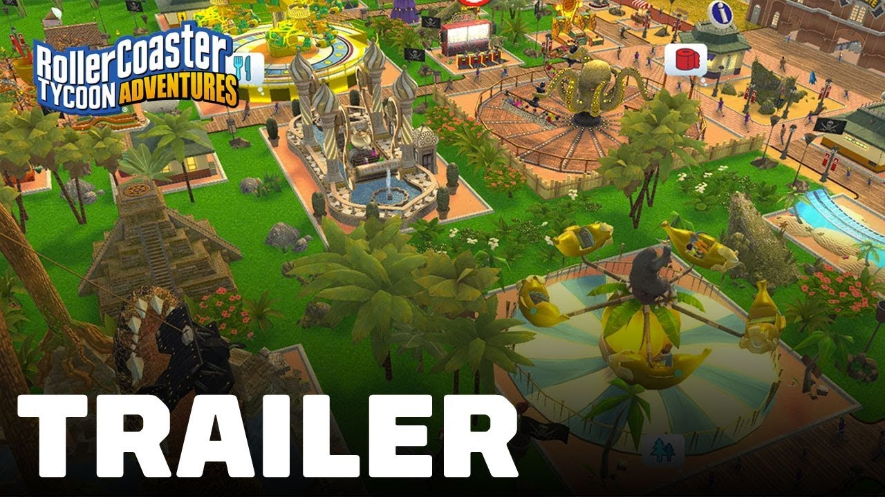 RollerCoaster Tycoon Adventures (Nintendo Switch) Launch Trailer
