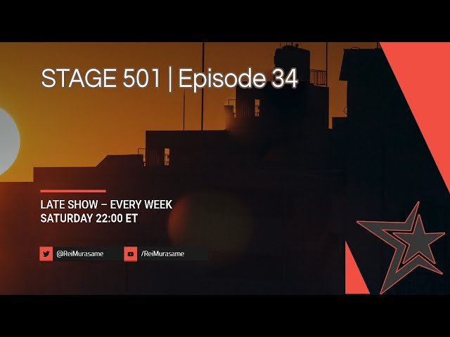 STAGE 501 | Episode 34 'Interviewing Anthony Avice Du Buisson'