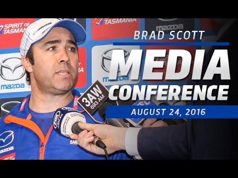 August 24, 2016 - Brad Scott media conference