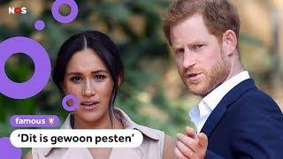 Prins Harry en Meghan woest op Britse krant