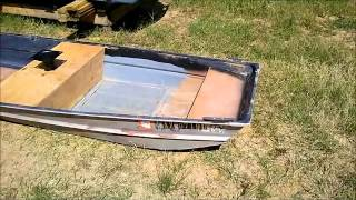 Flat Bottom Boat Facelift