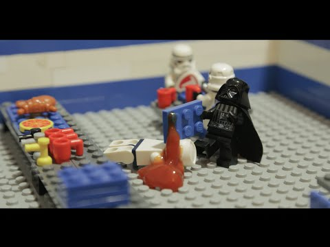 Eddie Izzard - Death Star Canteen -lego