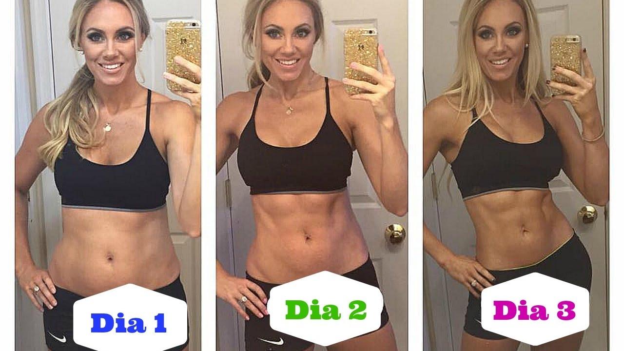 bajar de peso en 3 dias ejercicio
