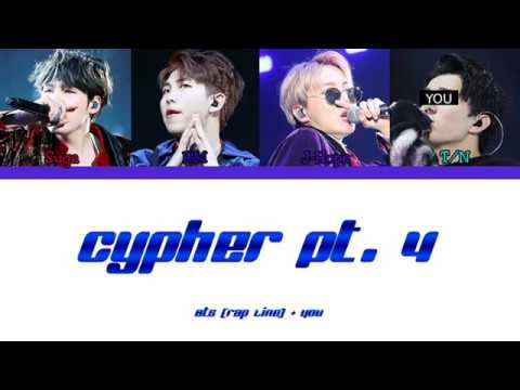 BTS (Rap Line) - (4 Members) - Cypher Pt.4 - Color Coded Han/Rom/Eng
