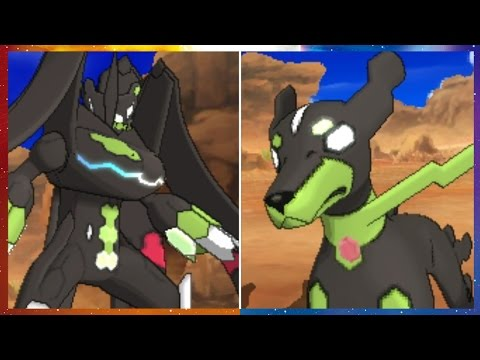 Two Zygarde Formes Are Ready for Battle!