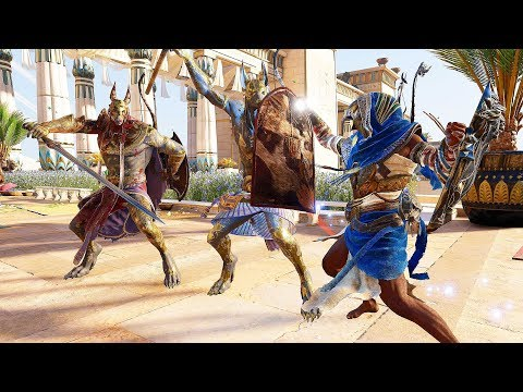 Assassin's Creed Origins The Sky God's Ultima Blade Rampage & Super Scorpion Battles thumbnail