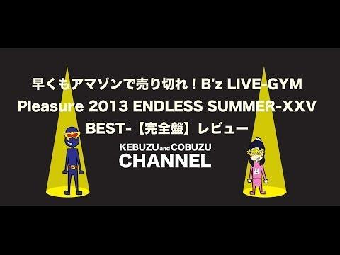 B'z ENDLESS SUMMERのBDを買ってきたよ!!【金欠高校生のB'z愛】