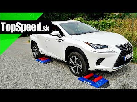 Lexus NX300h 4x4 intelligence test - TOPSPEED.sk