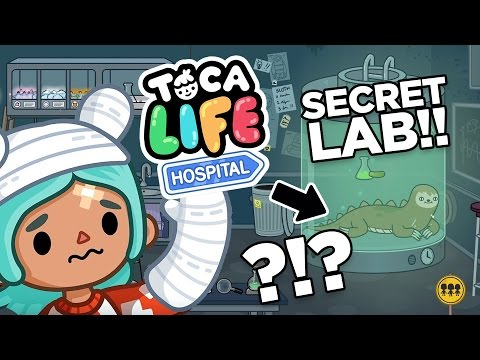 SECRET LAB!! Toca Life: Hospital App for Kids